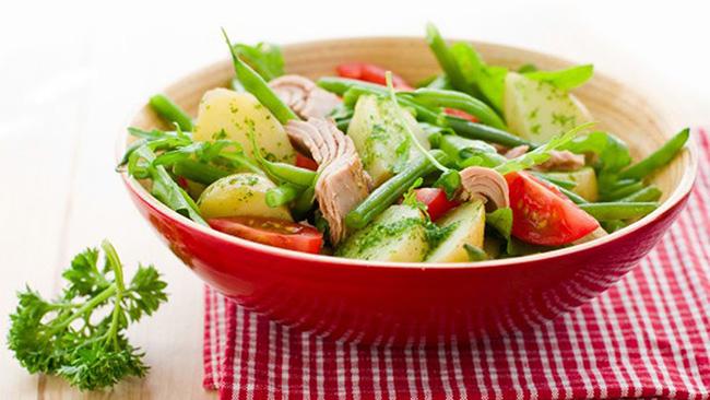 Салат с фасолью и картофелем - Итальянский рецепт