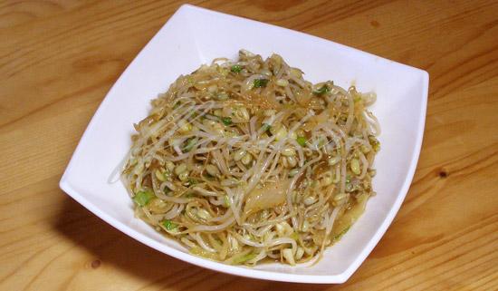 Лососевый салат по-нанкински